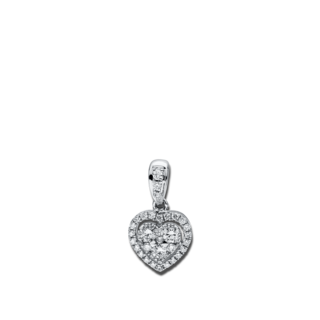 Brogle Selection Anhänger Basic Herz 3D782W8-1