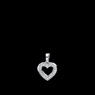 Brogle Selection Anhänger Basic Herz 3D813W8-5