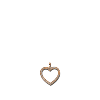 Brogle Selection Anhänger Basic Herz 3D815R8
