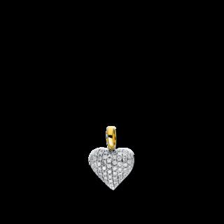Brogle Selection Anhänger Basic Herz 3D921WG