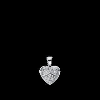 Brogle Selection Anhänger Basic Herz 3D925WR