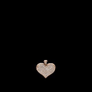 Brogle Selection Anhänger Basic Herz 3D938R8