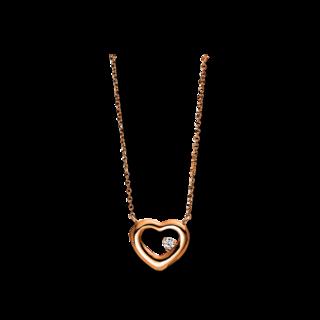 Brogle Selection Halskette mit Anhänger Basic Herz 4E141R8-1