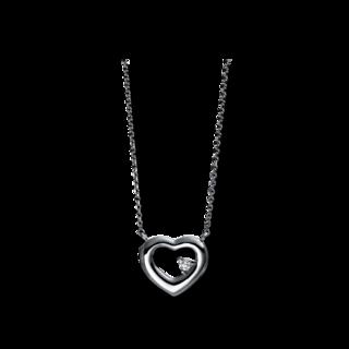 Brogle Selection Halskette mit Anhänger Basic Herz 4E141W8-1