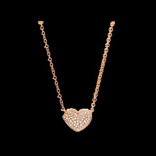 Brogle Selection Halskette mit Anhänger Basic Herz 4E298R8-1