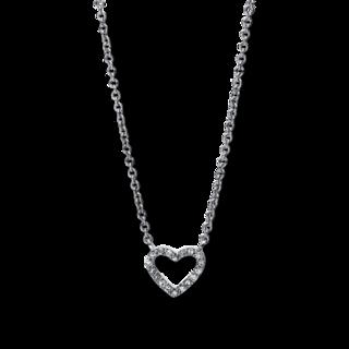 Brogle Selection Halskette mit Anhänger Basic Herz 4E478W4-1
