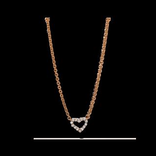 Brogle Selection Halskette mit Anhänger Basic Herz 4F170R8-1