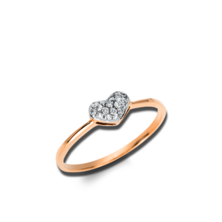 Brogle Selection Ring Basic Herz 1D846R8