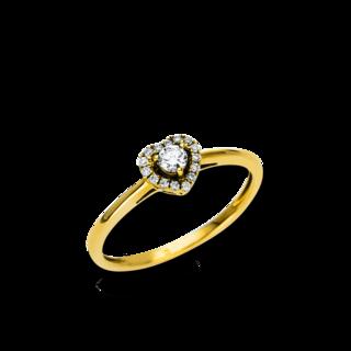 Brogle Selection Ring Basic Herz 1R343G8