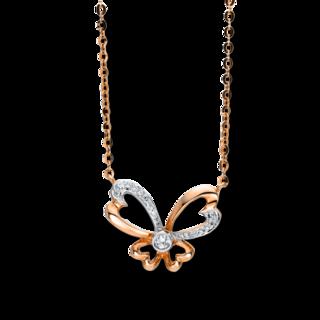 Brogle Selection Halskette mit Anhänger Basic Herzen 4F502R8-1