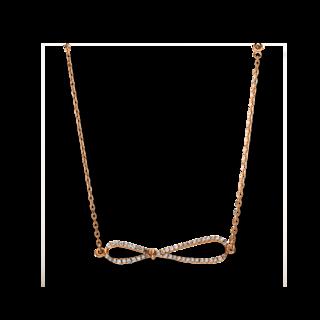 Brogle Selection Halskette mit Anhänger Basic Infinity 4F160R8-1