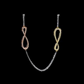 Brogle Selection Halskette mit Anhänger Basic Infinity 4F194T8-1