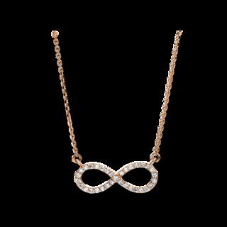 Brogle Selection Halskette mit Anhänger Basic Infinity 4F681R8