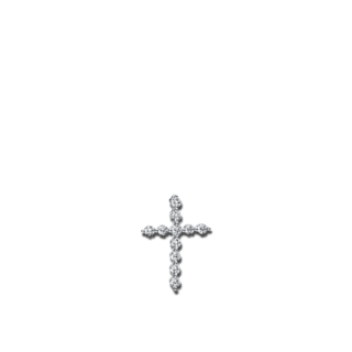 Brogle Selection Anhänger Basic Kreuz 3B109W8