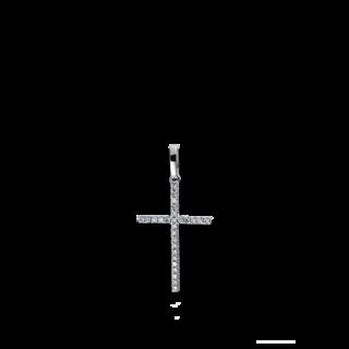 Brogle Selection Anhänger Basic Kreuz 3B300W8