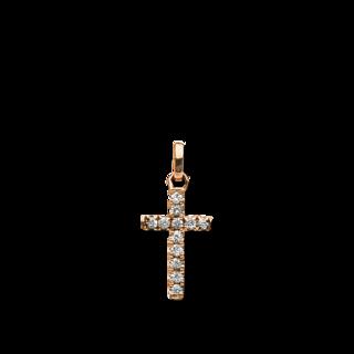 Brogle Selection Anhänger Basic Kreuz 3B754R8-4