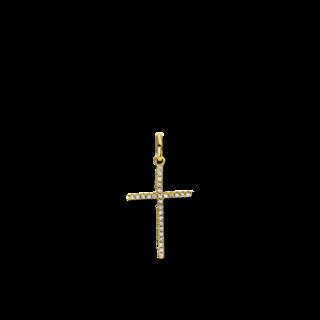 Brogle Selection Anhänger Basic Kreuz 3B756G8-10
