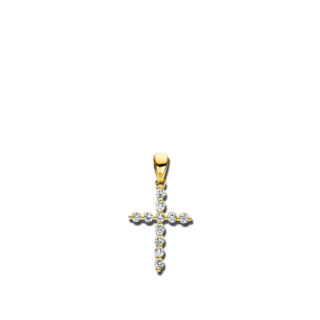 Brogle Selection Anhänger Basic Kreuz 3C176G8