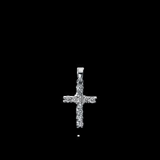 Brogle Selection Anhänger Basic Kreuz 3D081W8-5