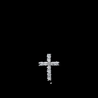 Brogle Selection Anhänger Basic Kreuz 3D085W8-1