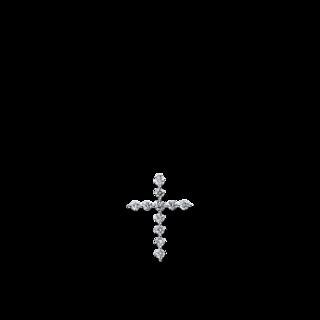 Brogle Selection Anhänger Basic Kreuz 3D106W8