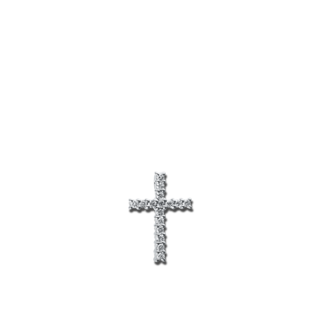 Brogle Selection Anhänger Basic Kreuz 3D289W8-1