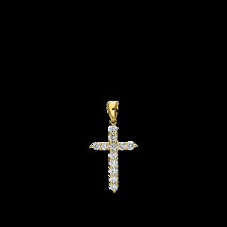 Brogle Selection Anhänger Basic Kreuz 3D296G8