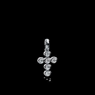 Brogle Selection Anhänger Basic Kreuz 3D402W8