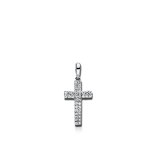 Brogle Selection Anhänger Basic Kreuz 3D641W8-1