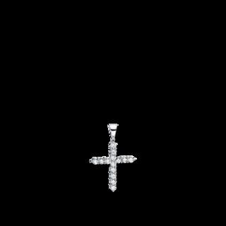 Brogle Selection Anhänger Basic Kreuz 3D739W8-2