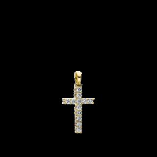 Brogle Selection Anhänger Basic Kreuz 3D816G8-2