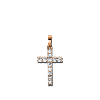 Brogle Selection Anhänger Basic Kreuz 3D816R8-1