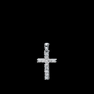 Brogle Selection Anhänger Basic Kreuz 3D816W8-5
