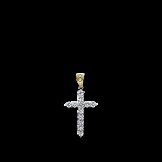 Brogle Selection Anhänger Basic Kreuz 3D924WG