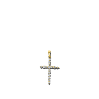 Brogle Selection Anhänger Basic Kreuz 3D950G8