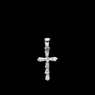 Brogle Selection Anhänger Basic Kreuz 3D951W8-2