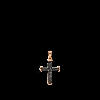 Brogle Selection Anhänger Basic Kreuz 3D955R8
