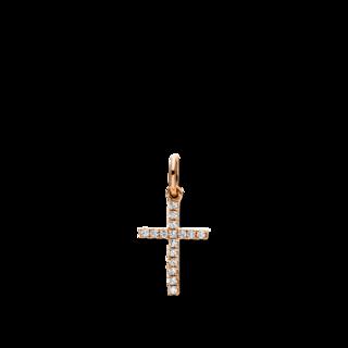 Brogle Selection Anhänger Basic Kreuz 3D961R8-1