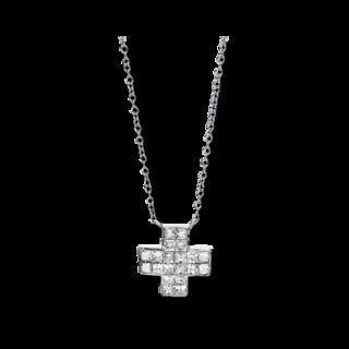Brogle Selection Halskette mit Anhänger Basic Kreuz 4A674W8