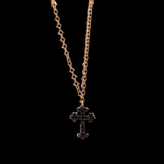 Brogle Selection Halskette mit Anhänger Basic Kreuz 4D780R8-2