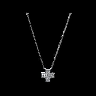 Brogle Selection Halskette mit Anhänger Basic Kreuz 4E295W8