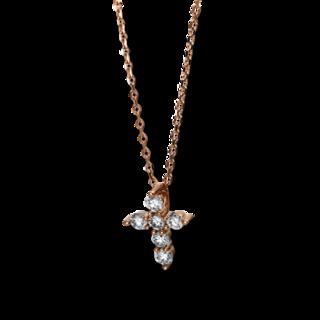 Brogle Selection Halskette mit Anhänger Basic Kreuz 4E574R8-1
