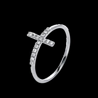 Brogle Selection Ring Basic Kreuz 1K123W8