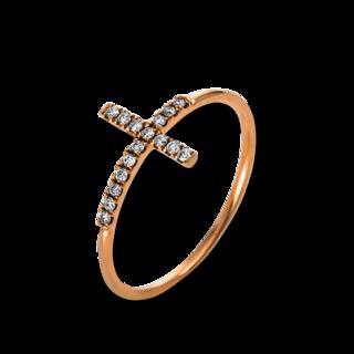 Brogle Selection Ring Basic Kreuz 1K864R8