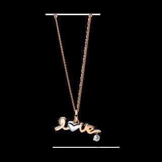 Brogle Selection Halskette mit Anhänger Basic Love 4F105RW8-1
