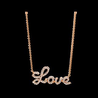"""Brogle Selection Halskette mit Anhänger Basic """"Love"""" 4F168R8-1"""