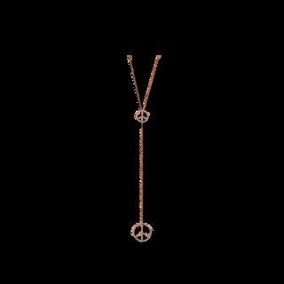 Brogle Selection Halskette mit Anhänger Basic Peace 4C490R8-2