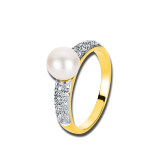 Brogle Selection Ring Basic Perle 1A018G8