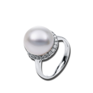 Brogle Selection Ring Basic Perle 1C259W8