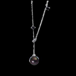 Brogle Selection Halskette mit Anhänger Basic Perlen 4D848W8-1